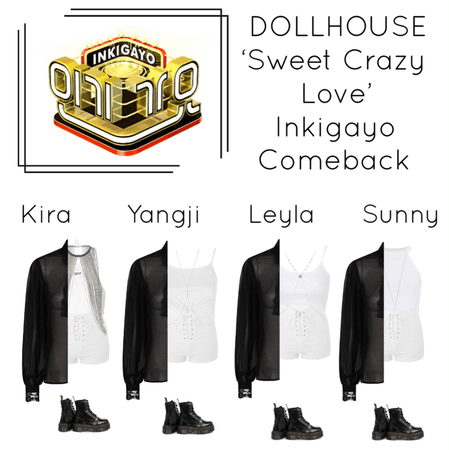 {DOLLHOUSE} 'Sweet Crazy Love' Inkigayo Comeback Show