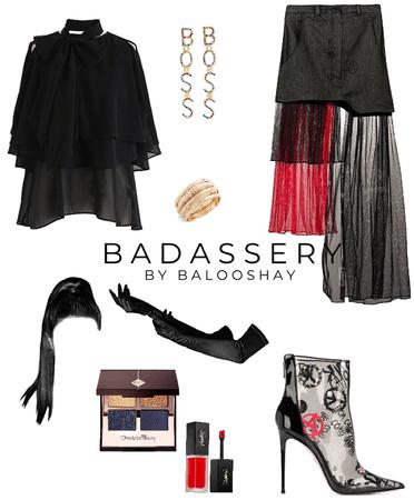 black and red [BADASSERY pt. 01]