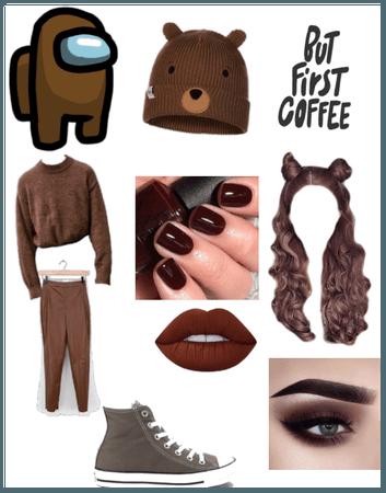 Among us brown (female)
