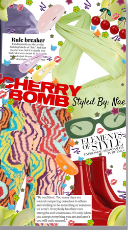 Cherry Bomb #Newcreatorschallenge entry #2