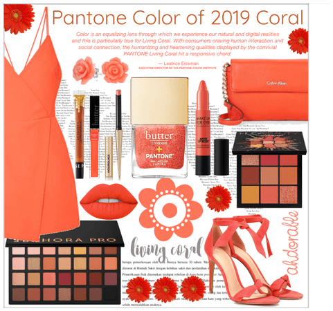 Pantone color of 2019 Coral