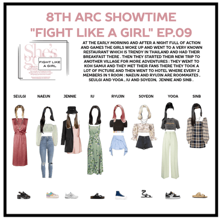 """8th Arc showtime """"FIGHT LIKE A GIRL """" EP.09"""