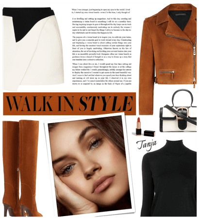 Walk in Style/Burnt Rust Color