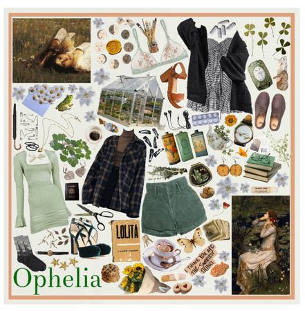 Ophelia Moodboard