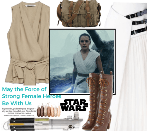 May The Force Be With Strong Females