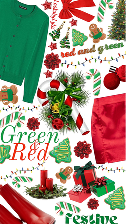 red green and all things XMAS