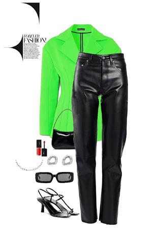 Black & Green.