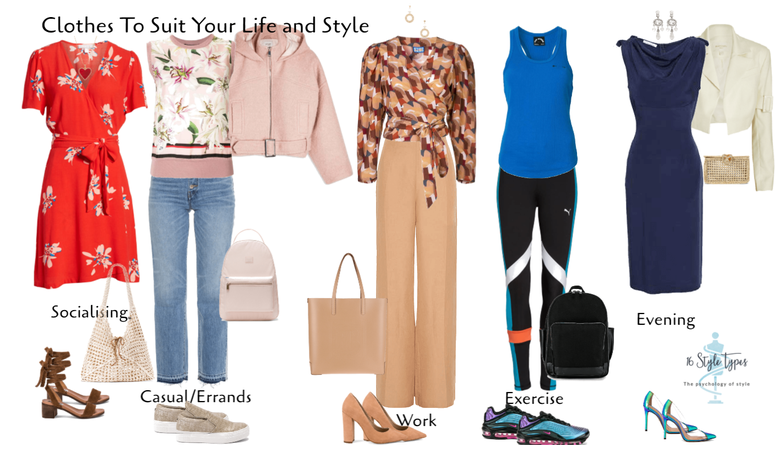 clothes to suit your life and style