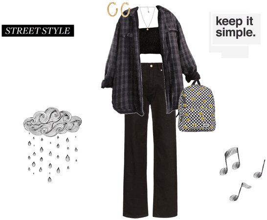 simple autumn outfit