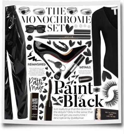 WINTER BLACK MONOCHROME 🖤🖤