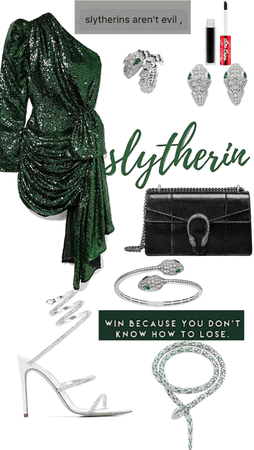 Slytherin inspired🐍🖤