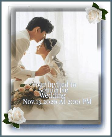 Somi&Jae Wedding Invitation