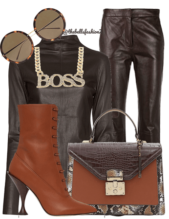 Monochromatic outfit 3