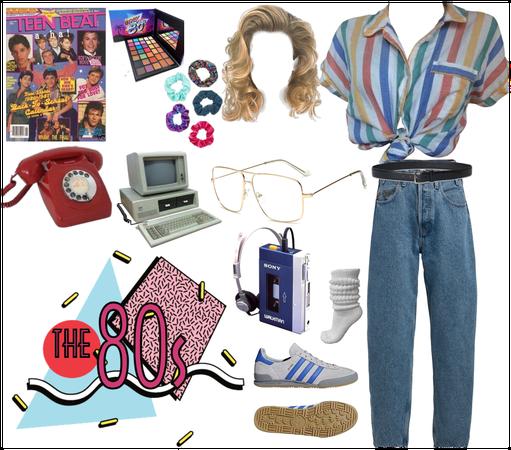 The 80s #80sFashion