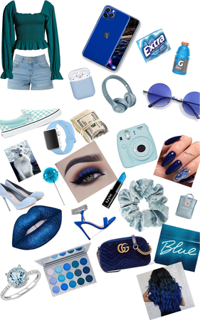 blue as a teen