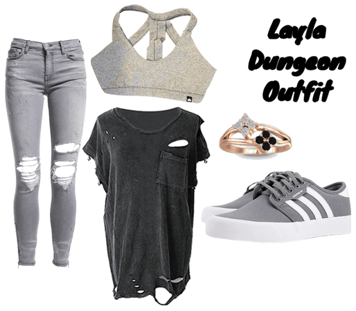 Layla Dungeon Outfit