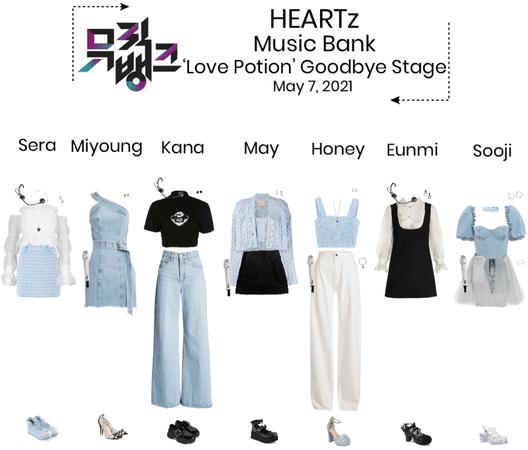 {HEARTz} 'Love Potion' Music Bank Goodbye Stage