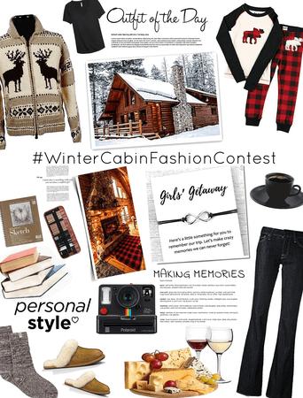winter cabin girl's getaway