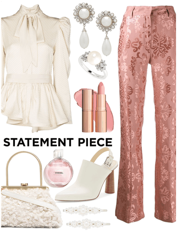 Statement Piece: Patterned Pants