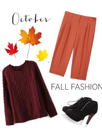 October/Fall