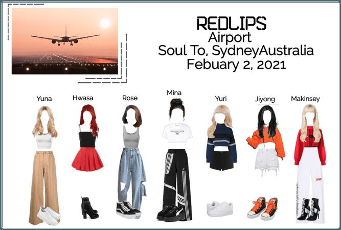 Redlips (붉은 입술) Airport Seatle To Sydney Australia
