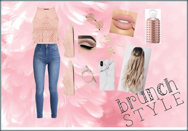 rosey pink
