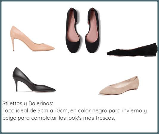 Stilettos y Balerinas Prendas Básicas