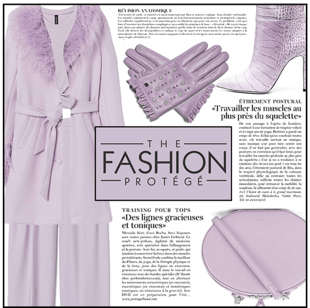 Fashion File: Layers Of Lilac - Contest