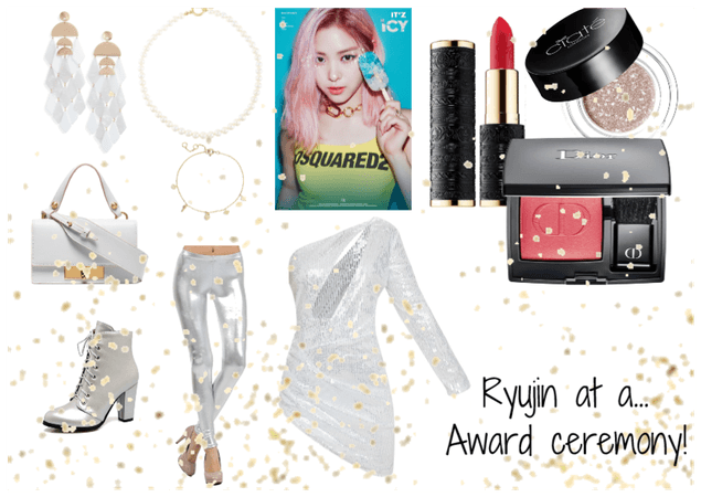 Ryujin at a award ceremony