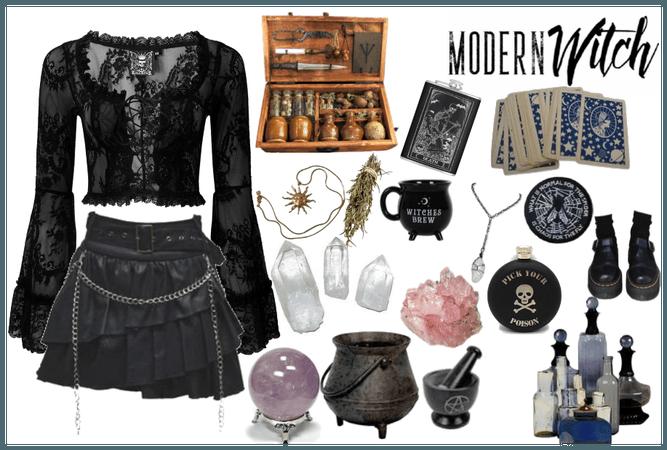 Modern Gothic Witch