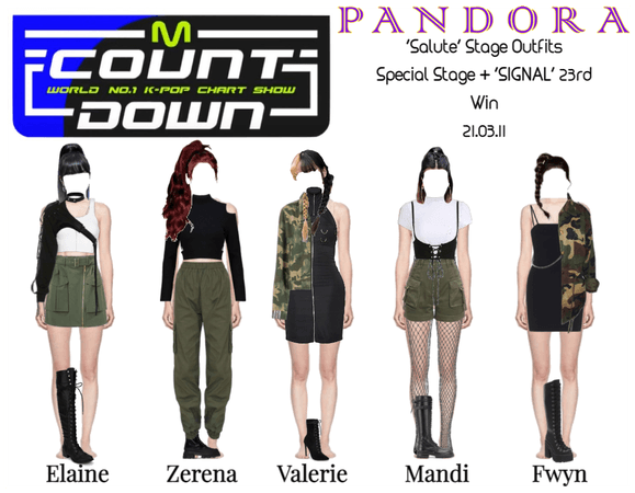 PANDORA [M Countdown] Cover Stage