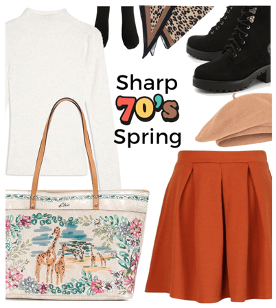 Sharp 70s Spring