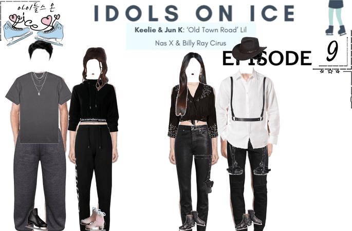 IDOLS ON ICE EPISODE 9   KEELIE & JUN K