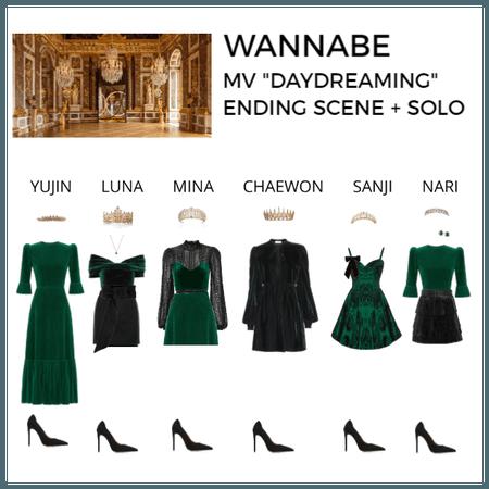 "WANNABE   MV ""Daydreaming"" - Ending scene + solo"