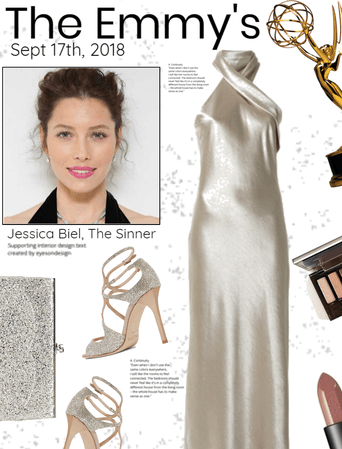The Emmy's Jessica Biel Inspired Look