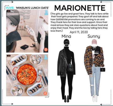 MARIONETTE (마리오네트)[MINA & SUNNY] V-App Livestream