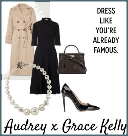 Audrey x Grace Kelly
