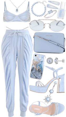 sky blue babe
