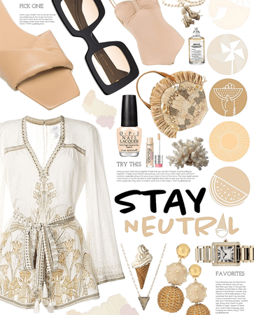 stay neutral my friends | summer neutrals