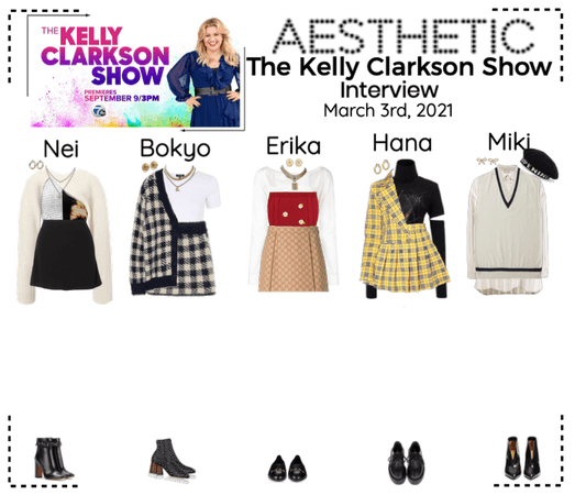AESTHETIC (미적) [KELLY CLARKSON SHOW] Interview