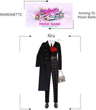 MARIONETTE (마리오네트) [KIRA-SOLO] Arriving To Music Bank
