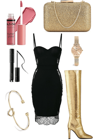 Dress Up With Gold