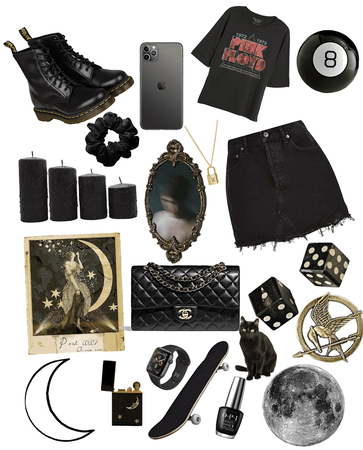 Black all black