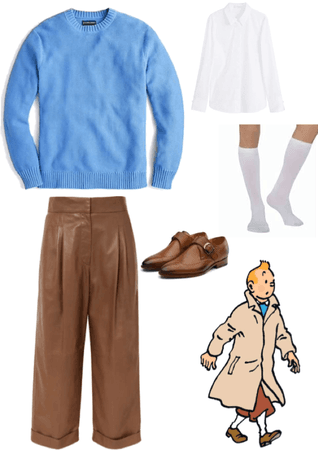 Tintin casual cosplay *revise*