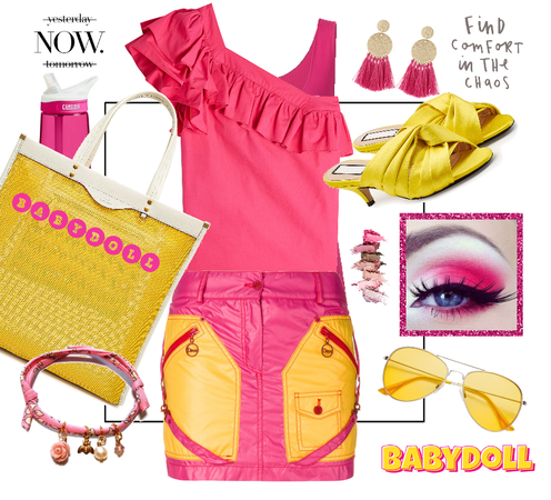 Hot Pink and Yellow for Spring and Summer