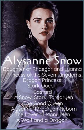 Alysanne Snow (ASOIAF/GoT)