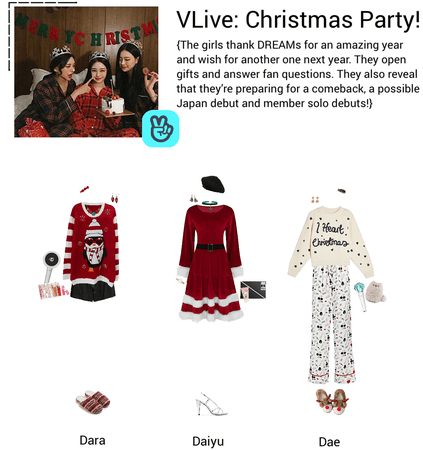 {3D} VLIVE: Christmas Party!