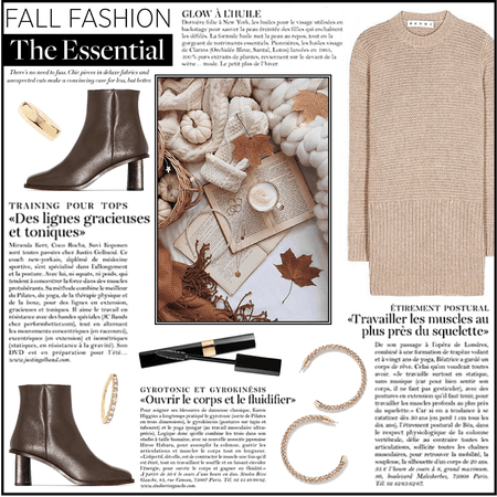 Fall Fashion Trend: Sweater Dress And Leather Boots