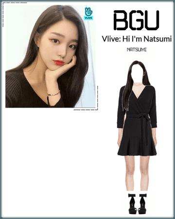 BGU Vlive: Hi I'm Natsumi