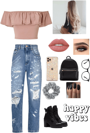 Back to school outfit for teens